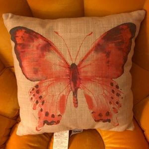 Butterfly throw/accent pillow